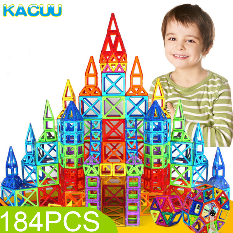 184pcs-110pcs Mini Magnetic Designer Construction Set Model & Building Toy Plastic Magnetic Blocks Educational Toys For Kids Gif 110pcs mini magnetic blocks brinquedos models building toy magnetic designer enlighten bricks magnetic toys educational toys