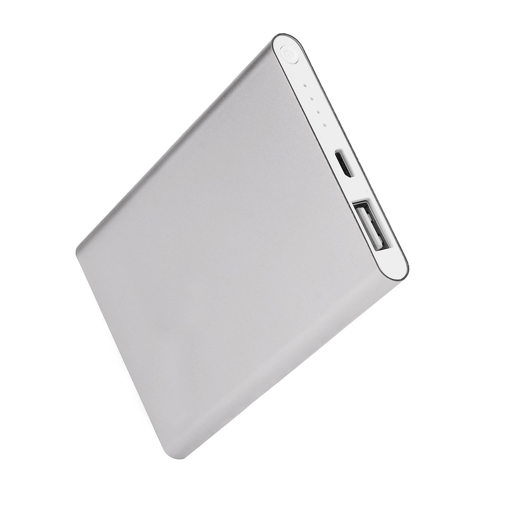 New Brand Ultrathin 6000mAh Portable USB <font><b>Battery</b></font> Charger Power Bank for Iphone Smart Cell Phones Includes A Charging Cable image