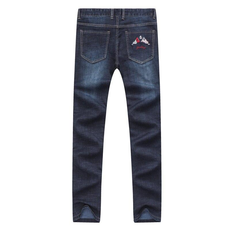 Fashion Jeans Men High Quality Brand Tace & Shark Straight Casual & Business Jeans Men Pantalon Homme Jean Denim Trousers 42