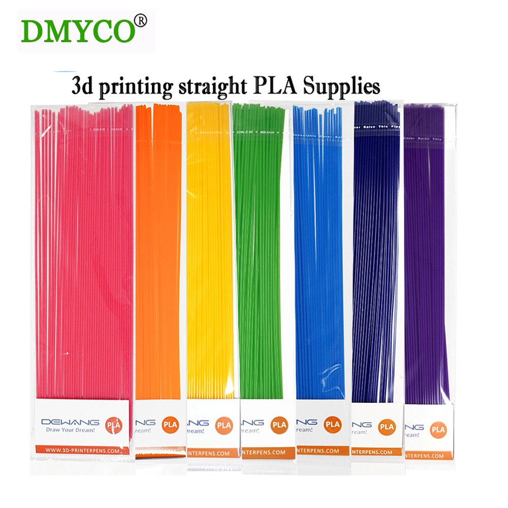 Best price DMYCO 3D Printer Pen 3d Drawing Filament 1.75mm PLA 25CM plastic Rubber Material with 22 colours supply you choose