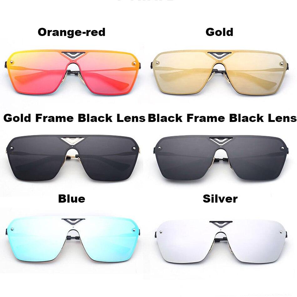 0dcf965a2604e4 FEIDU Mode Alliage Sans Monture lunettes de Soleil Femmes Hommes Marque  Designer Plat Revêtement Miroir Lunettes de Soleil Unisexe Lunettes Oculos  De Sol ...