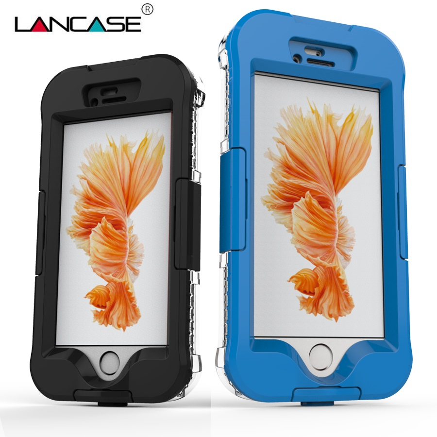 LANCASE For iPhone 6S Case IP68 100 Underwater 5M Waterproof Cover For iPhone 6 Case Coque