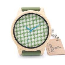 Bobobird Mens de la Marca de Diseño de Bambú de Bambú de Madera De Madera Del Reloj de Lujo Relojes Banda De Silicona Suave reloj de Marcación Paño Reloj de Cuarzo para Las Mujeres