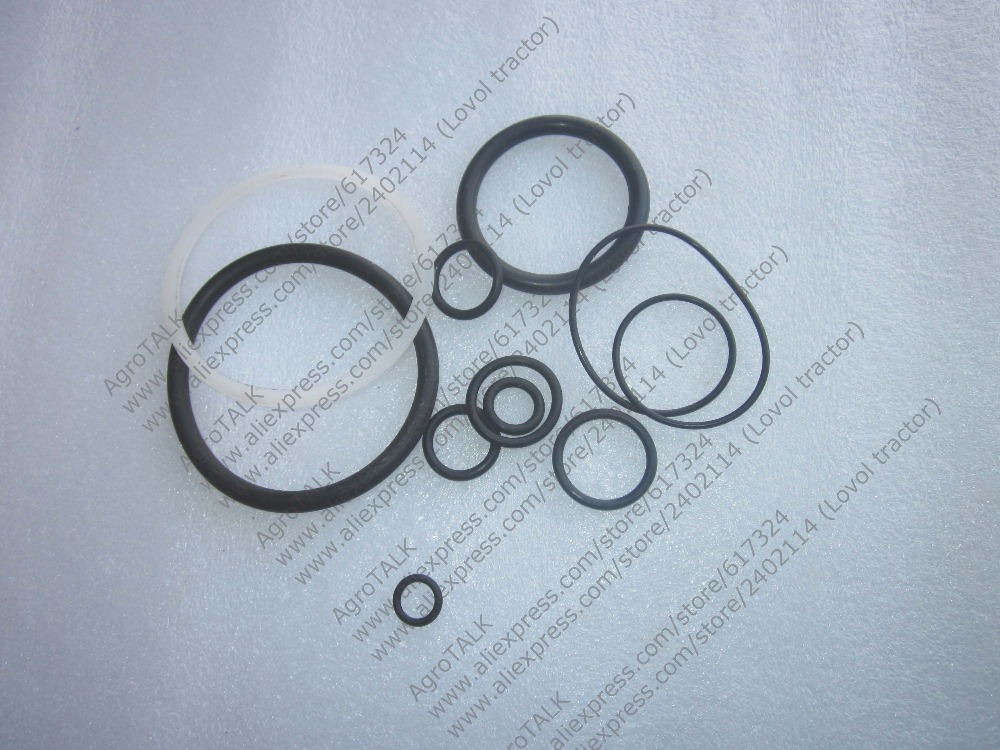 Dongfeng DF304 tractor parts, the set of oil seals for hydraulic lift, for cylinder diameter 75mm rubber seals for fluid and hydraulic systems