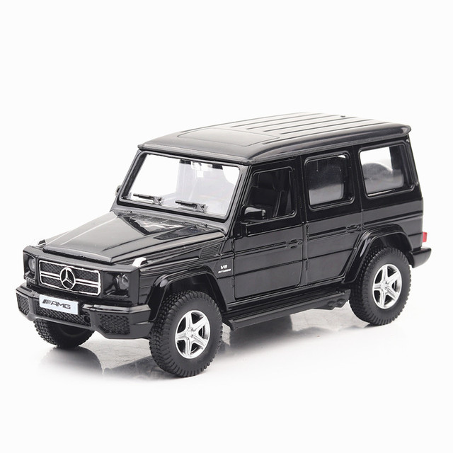 2018 Boxed Mercedes Benz G Class Car Model Alloy Car Toy Pull Back
