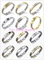 Multi-choose High Quality Wire Cable Men Charm Bracelets Bangles Titanium Steel New Design Men Fashion Jewelry