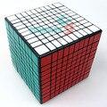 Shengshou 10 x 10 x 10 Cubo mágico Puzzle blanco y negro y primaria de aprendizaje y juguetes educativos Cubo juguetes