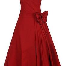 5a649c9b7a46 uk western designs sweetheart a-line knee length ladies red dress short  vintage design plus
