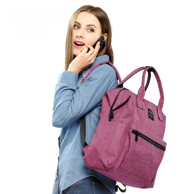 Grand sac à couches multicolore pour maman | Sac à grande capacité, à la mode, pour maman et bébé, sac poussette, sac à couches, nouvelle collection 73006