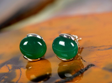 Natural crystal Earring