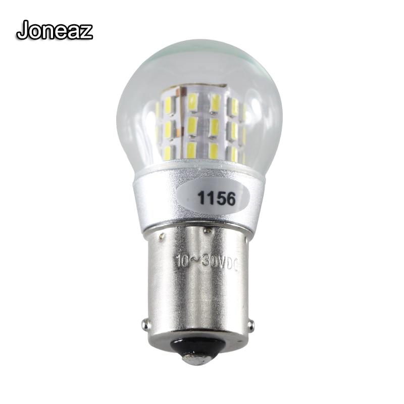 2x 4LED 1157 BAY15D Red COB Bulb Lamp Car Reverse Turn Singal Rear Light 12-24V