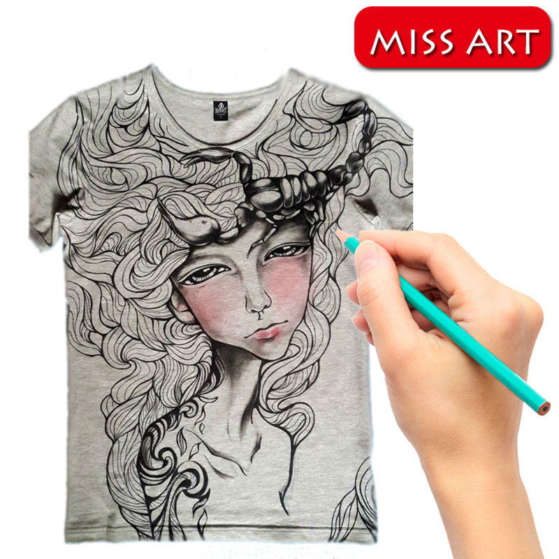 2017 New Novelty Hnad Painting T Shirts Custom Your Personalized Shirt Paint Any Name Or Photo Airbrush Color In From Women S