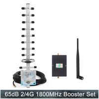 65dB 4G Amplifier LTE 1800MHz (Band 3) Cellular booster Mobile Phone Signal Booster Cell Phone Amplifier 4g lte 1800mhz Repeater