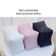 Дизайн ногтей двойного назначения настольные подушки для рук подставки для рук Уход за ногтями Подушка салон Маникюрный Инструмент искусственная кожа подлокотник