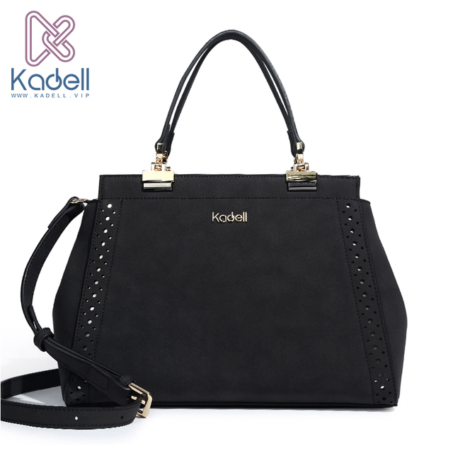 Kadell Brand High Quality Women Shoulder Bag Nubuck Leather Wwomen Handbag Vintage Messenger Bag Top-Handle Doctor Tote Bags