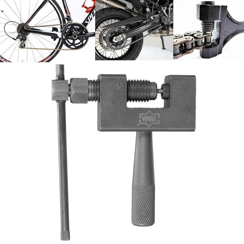 Black Bike Chain Breaker Splitter Repair Tool For Cycling Bicycle Motorcycle