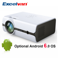 Excelvan BL45 2000Lumen LCD Projector Home Cinema 1080P LED TV Proyector Multimedia Projector Low Noise LED Proyector In Full HD