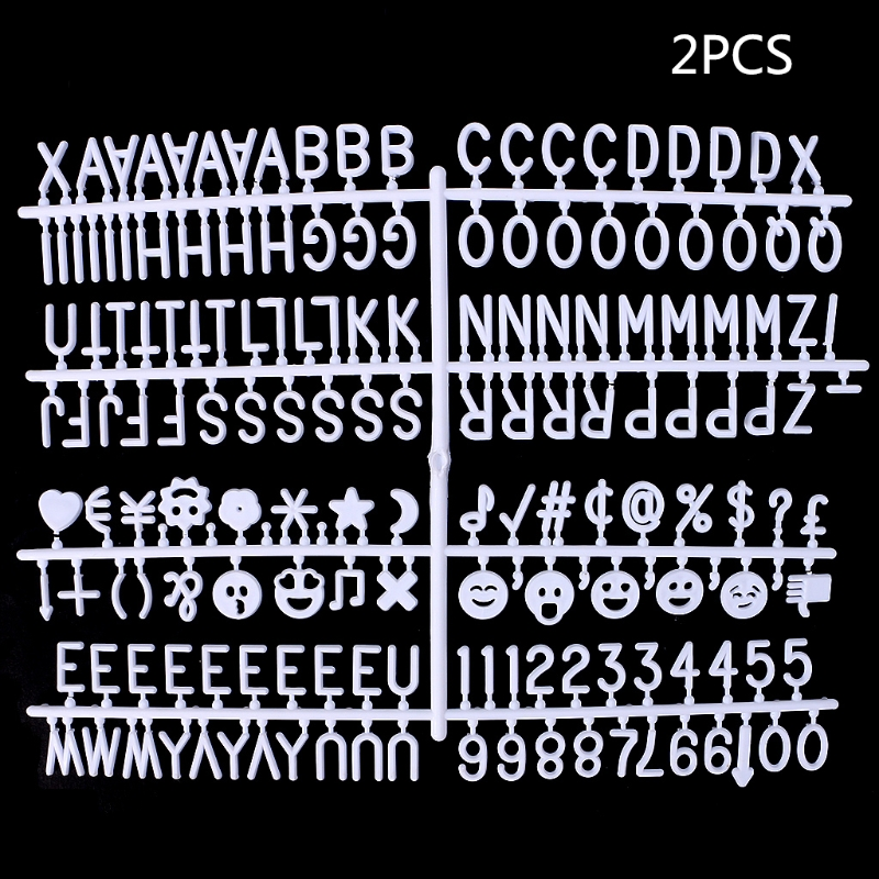 New Characters For Felt Letter Board 340 Piece Numbers For Changeable Letter Board
