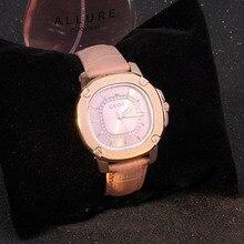 Nueva rhinestore reloj de lujo famosa marca genuino de las señoras del dial del Cuadrado banda de cuero reloj de cuarzo de las mujeres reloj de pulsera causal
