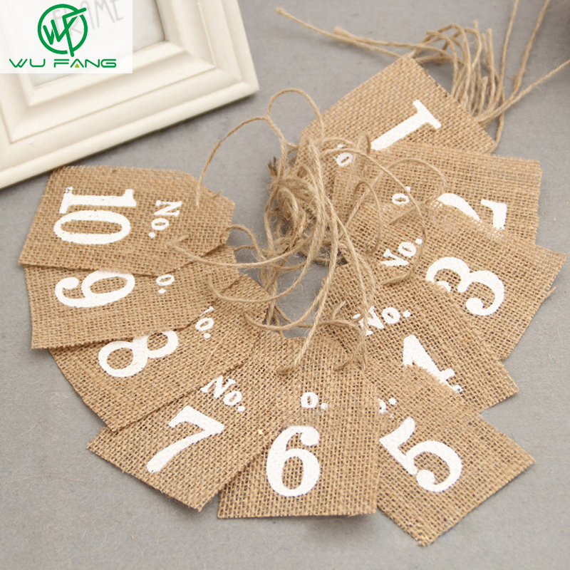 linen wedding party drcoration digital hanging card personalized custom seat card elevators bottle hanging table card - Personalized Halloween Decorations