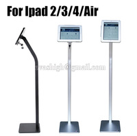 Tablet Security Lock Ipad Floor Stand Tablet Display Enclouse Ipad Security Case Bracket Kiosk AntithefTfor Ipad