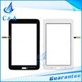 Para samsung galaxy tab 3 lite t111 sm-t111 3g pantalla táctil panel frontal de cristal digitalizador lcd de 1 unidades el envío libre negro blanco