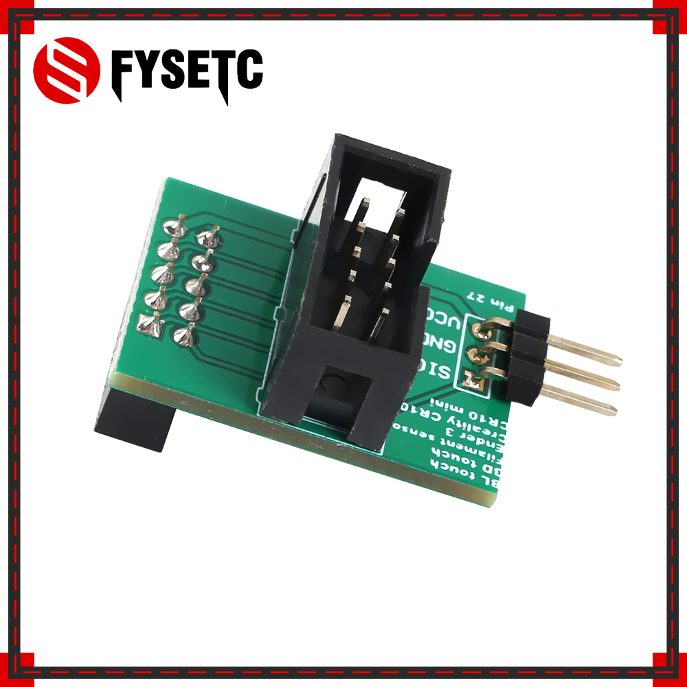 Wider Power Channel Pin 27 Board Adapter Sensor For Creality CR-10 Ender-3 Ender 3 Pro Ender 5 BL-TOUCH BLTouch 3D Printer Parts(China)