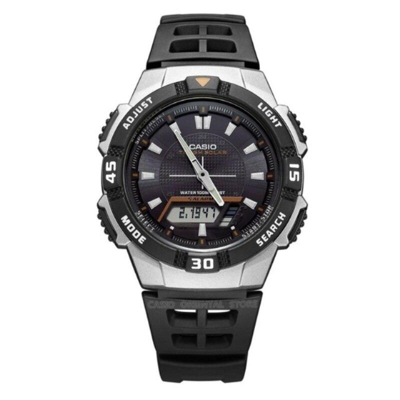 Casio Watch Army Relogios 2018 Free shipping Men Quartz Wrist Watch AQ-S800W sports Swim Back Light Solar Power rubber band casio aq s800w 1b2 casio