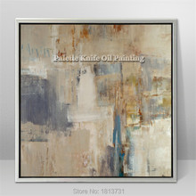 Hand painted canvas oil paintings Cheap large modern abstract cuadros Home decor Canvas quadro wall Art pictures for living room
