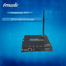 FMUSER H 264 H 265 Wireless IPTV Encoder HD IPTV Streaming Encoder IPTV Streaming server System