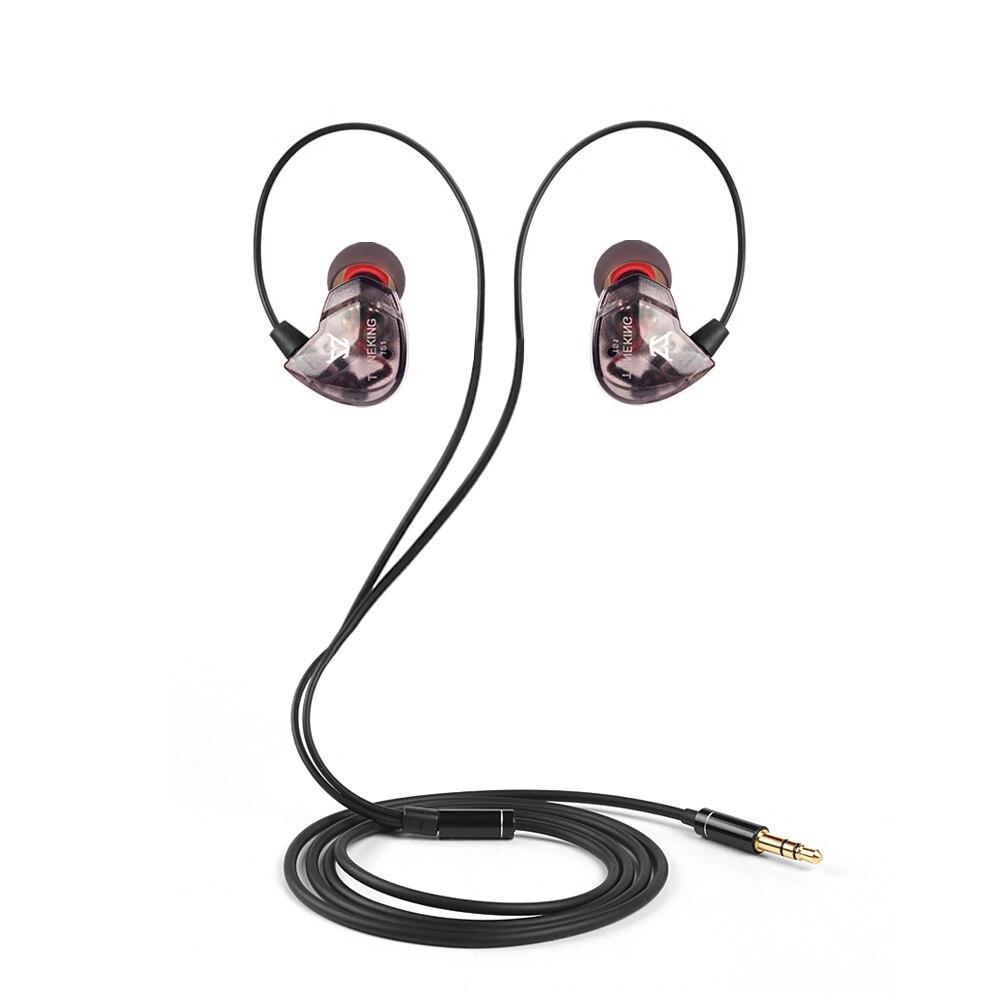 Newest Musicmaker TS1 In Ear Earphone Dynamic 3.5mm Earbuds Sport Hifi Headset