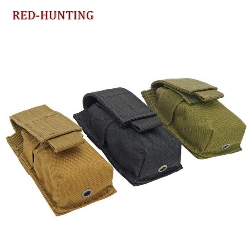 Tactical Pouches Molle Clip Single Magazine Pouch Pistol Mag Pouch Bag