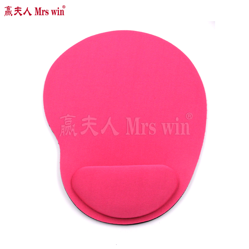Wrist Support Mouse Pad Rest Wrist Backed Mouse pad with 5 Colors Thicken Cute for PC