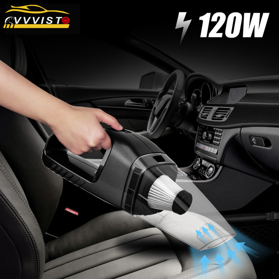 2018 120W VVVIST Mini Car Vacuum Cleaner Car Cleaner Handheld Portable 12V Powerful Auto Cleaning Tools Auto Car Vacuum Cleaner цена