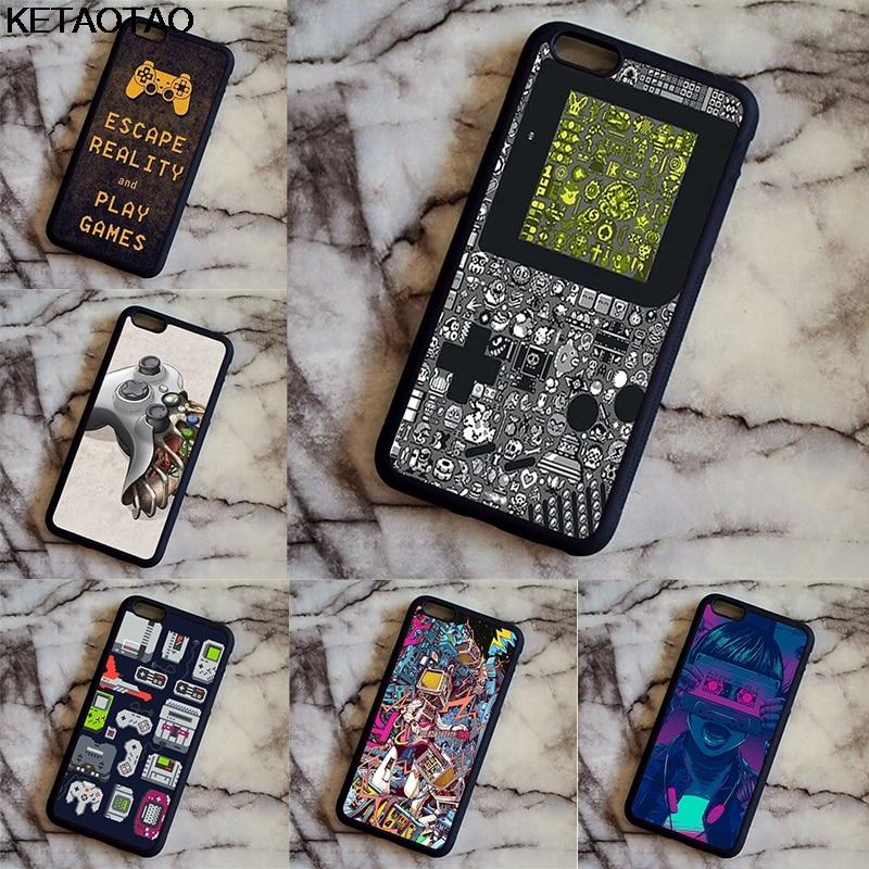 KETAOTAO Tetris Game Console Phone Cases for Samsung S3 S4 S5 S6 S7 S8 S9 NOTE