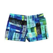 Детский Эластичный пляжный купальник для маленьких мальчиков; плавки; шорты; одежда; камуфляжные брюки; спортивные пляжные шорты; трусы для мужчин;# A
