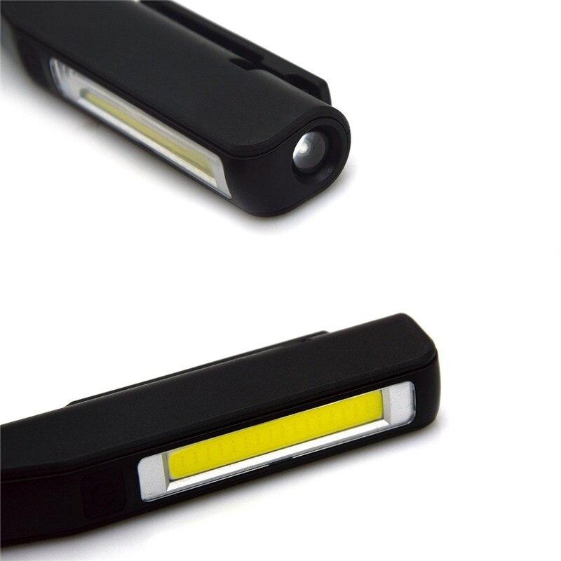 Utral Parlak COB LED USB Şarj Fener Çalışma ışığı - Taşınabilir Aydınlatma - Fotoğraf 5