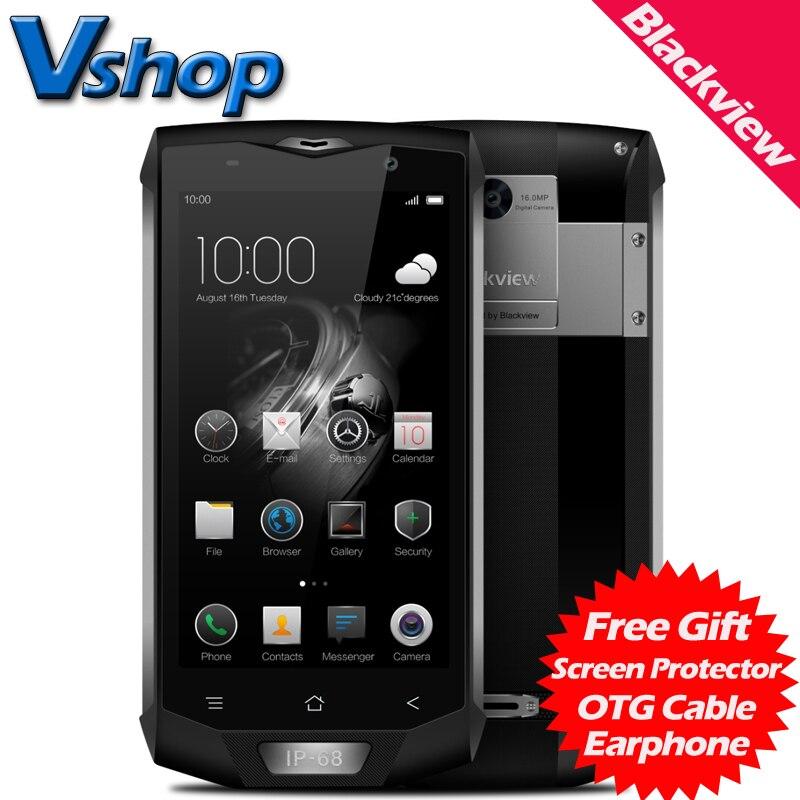 Original blackview bv8000 pro 4g teléfonos móviles android 7.0 6 gb ram 64 GB RO