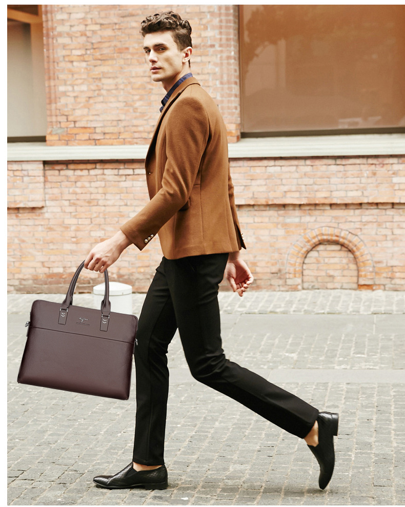 HTB1z9 6f.FWMKJjSZFvq6yenFXaN TIANHONGDAISHU Men Casual Briefcase Business Shoulder Leather Messenger Bags Computer Laptop Handbag Men's Travel Bags handbags