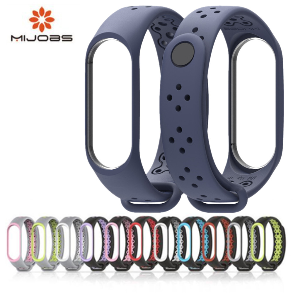 Mi Band 3 4 Strap Silicone Bracelet Wrist Strap For Xiomi Mi Band 4 3 Smart Watch Bracelet Sport Miband 4 3 Strap Mi Band3