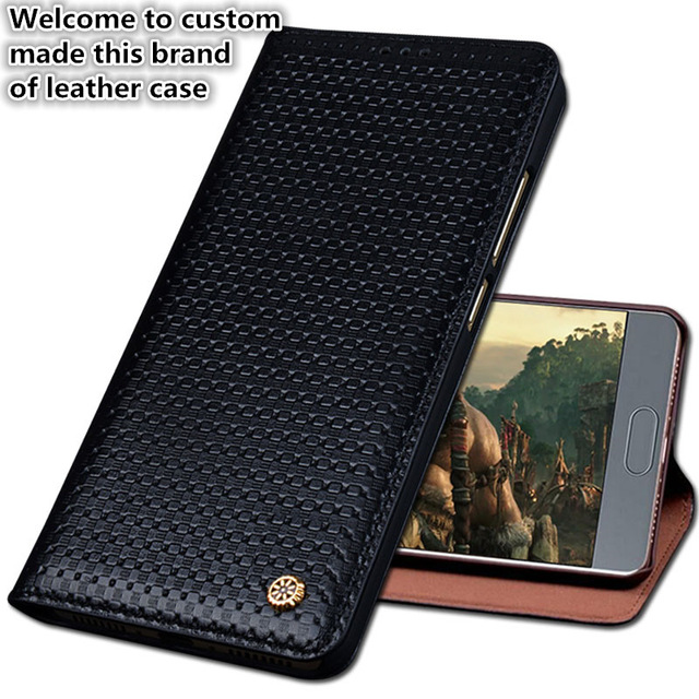 ND03 genuine leather flip case for Samsung Galaxy J6 2018 phone case for Samsung Galaxy J6 2018 phone cover free shipping