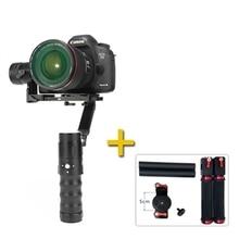Quem vê ec1 32bit camera gimbal 3-axis handheld estabilizador 360 infinitas para a7s canon 6d/5d/7d mirrorless & dslr câmeras vs