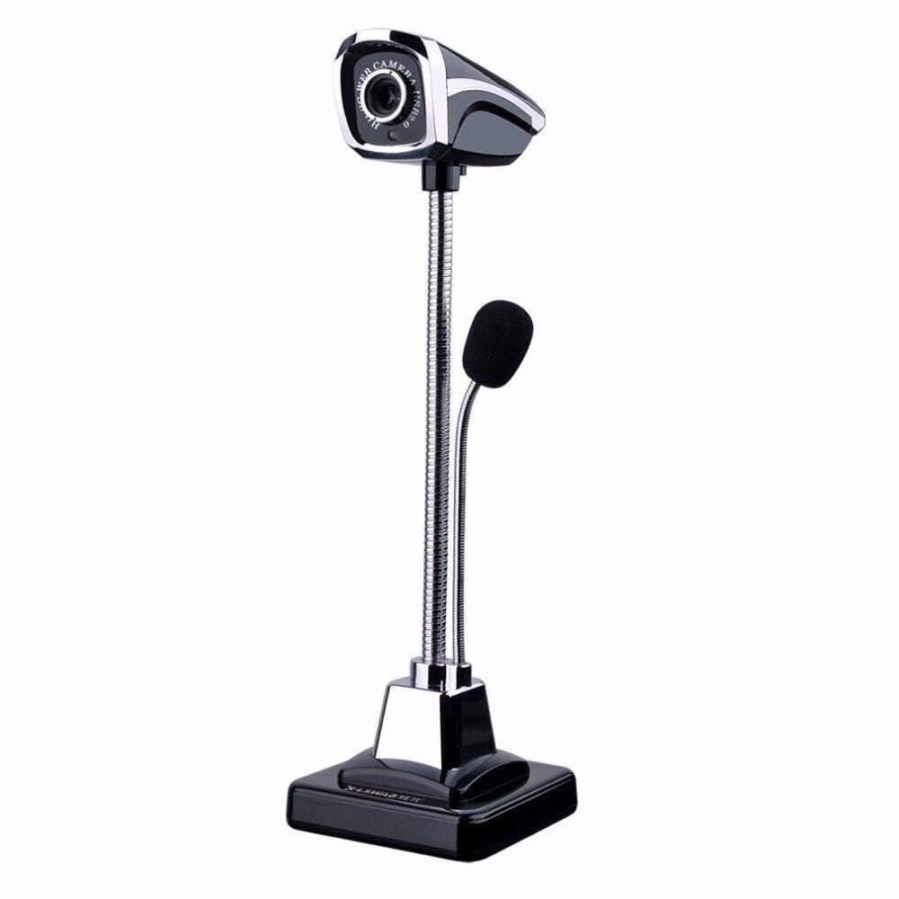 M800 USB 2.0 Filaire Webcams PC Portable 12 Millions Pixel Vidéo Caméra Réglable Angle HD LED Night Vision Avec Microphone