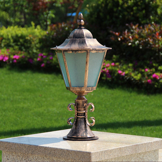 Lamp post garden courtyard fence wall lamp outdoor column headlights lamp post garden courtyard fence wall lamp outdoor column headlights villa garden lights wcs ocl0010 aloadofball