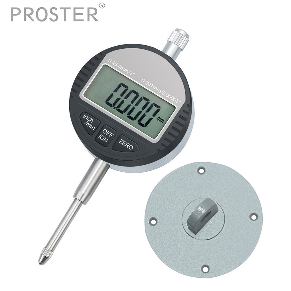 0.001mm/0.00005 Dial Micro Indicator Measurement Instrument Precision Digital Electronic Micrometer Gauge Tool 0-25.4mm/1'' quality professional precision tool 0 01mm accuracy measurement instrument dial indicator gauge stable performance hot selling