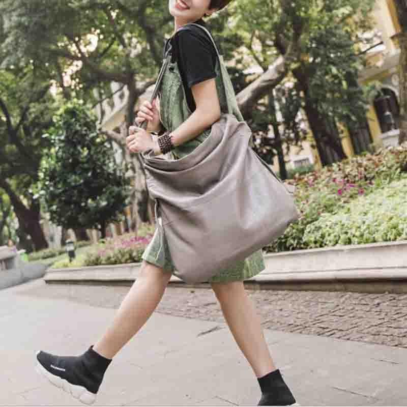 NIUBOA Women Shoulder Bags Super Large Capacity Women Handbags High Quality 100% Genuine Leather Women Bags Big Casual Tote Bags