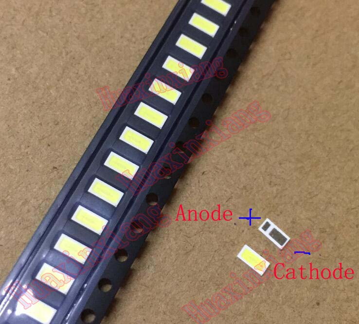100PCS/Lot SMD <font><b>LED</b></font> <font><b>4020</b></font> 3V 0.5W 48LM For TV/LCD Backlight