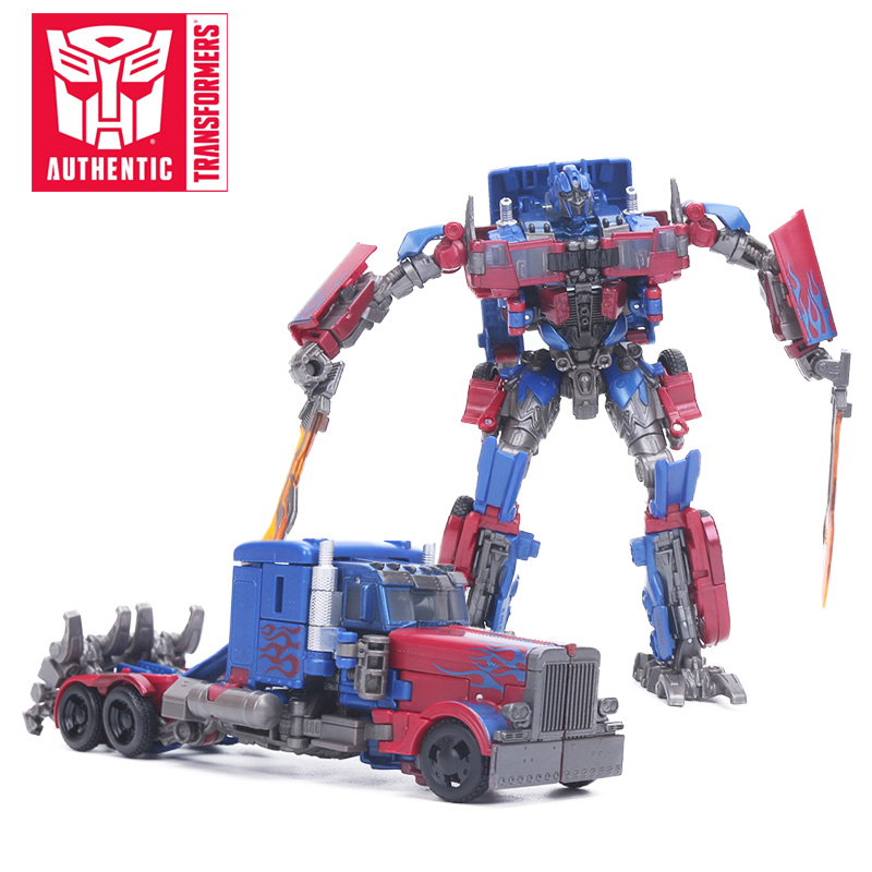 2018 17cm Transformers Toys Studio Series 05 Voyager Class Movie 2 Optimus Prime Voyager Class Starscream