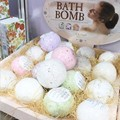 Deep Sea Bath Salt Ball Body Dry-Nurse Essential Oil Moisturizing Effervescent Natural Bubble Bombs Ball Bath Accessories