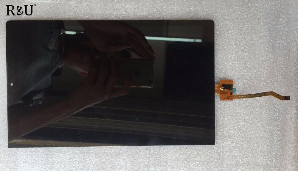 R&U LCD Display Panel & Touch Screen Digitizer assembly For Lenovo Yoga Tab 3 Pro 10.1 YT3-X90L YT3-X90F YT3-X90X X90